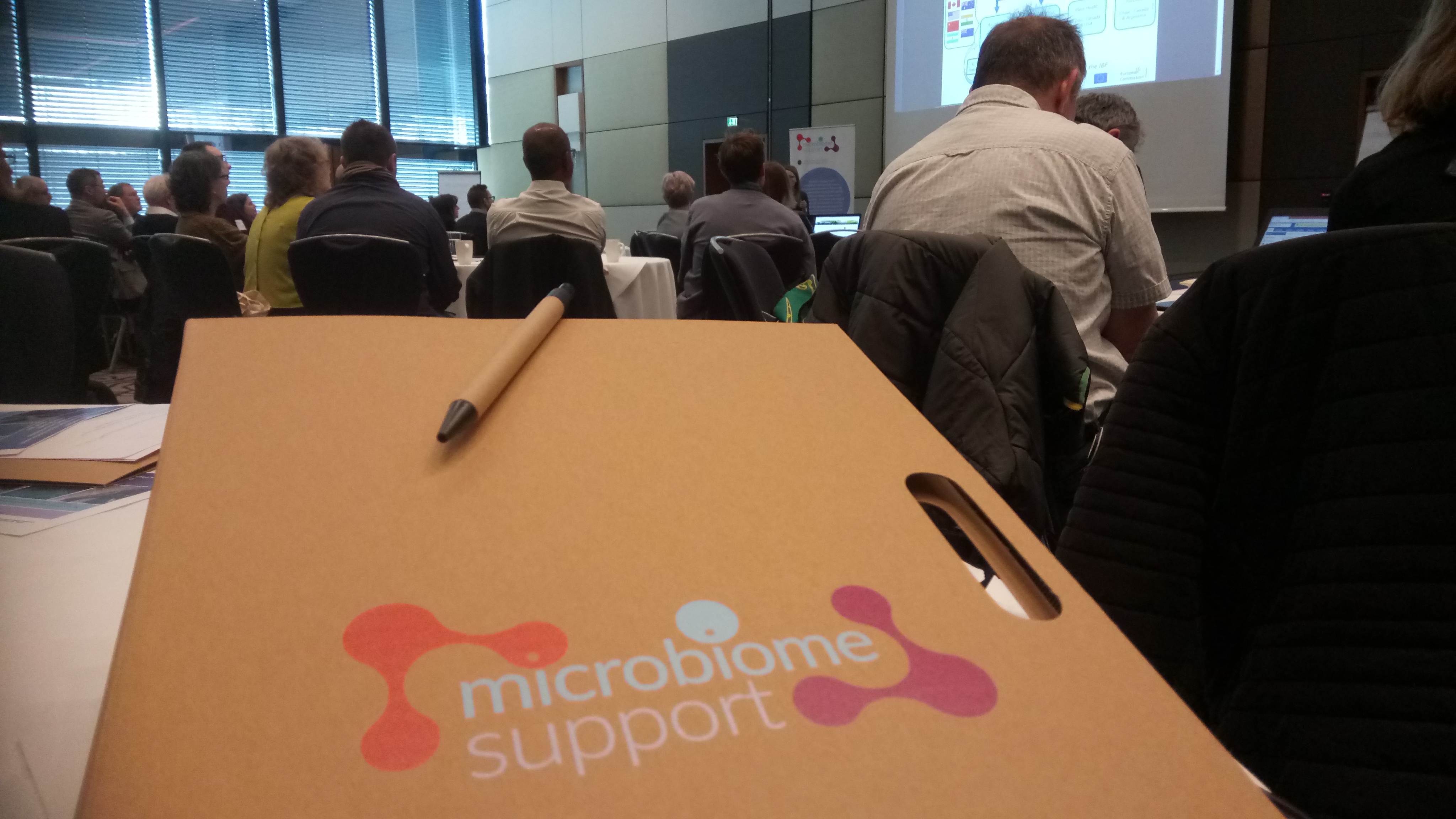 Great hopes in small organisms: International MicrobiomeSupport Workshop is held in Vienna